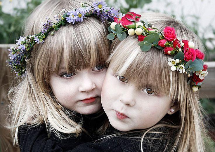 #diy #coronadeflores naturales para niñas.