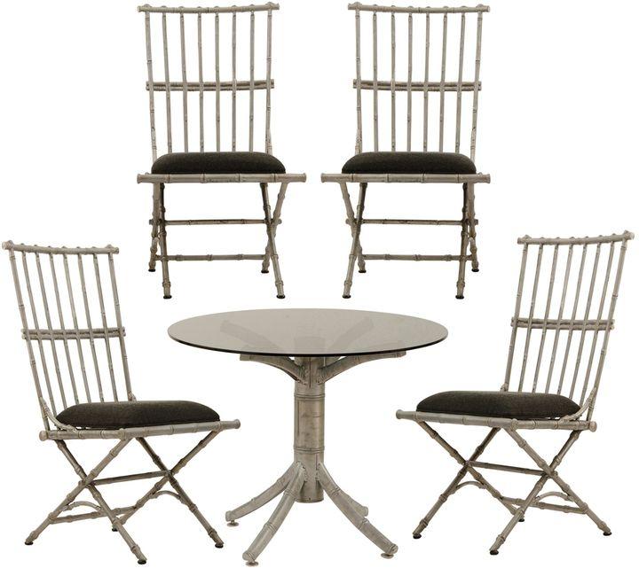 Rejuvenation Set of Cast Aluminum Patio Furniture