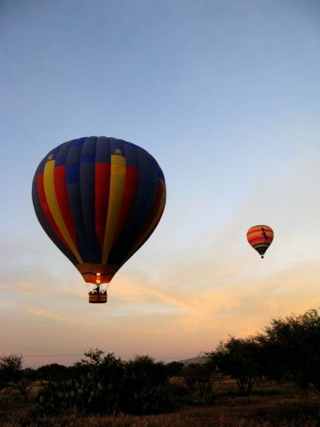 Paseo en globo en Tequisquiapan