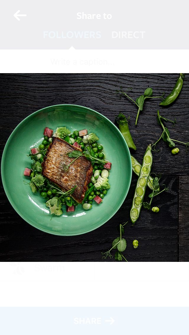 Crispy skin snapper with pancetta and Spring vegetables.