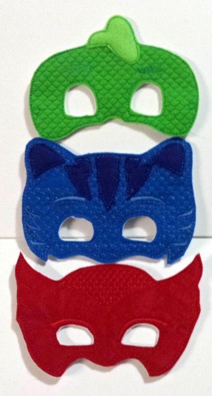 Pj Masks Felt Dress Up Masks Set Of 3