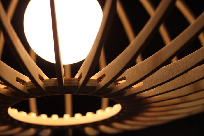 Minima is a range of bespoke, digitally-crafted timber light fittings and furniture.