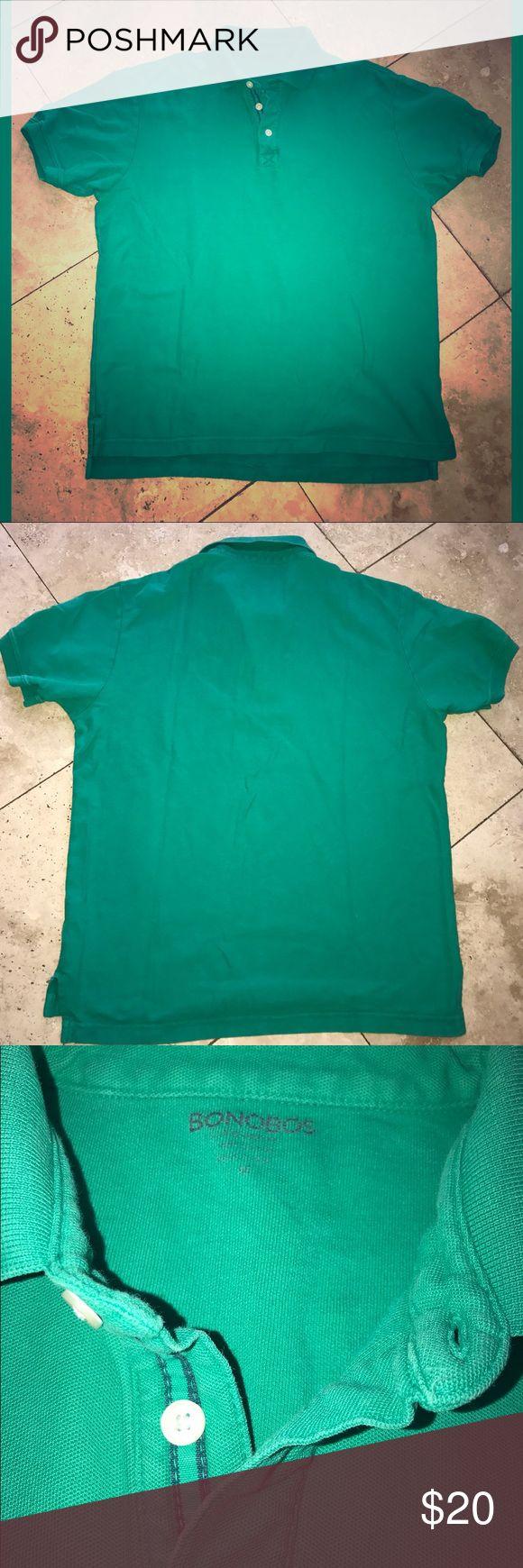 Bonobos Green Polo Shirt No holes or stains Bonobos Shirts Polos