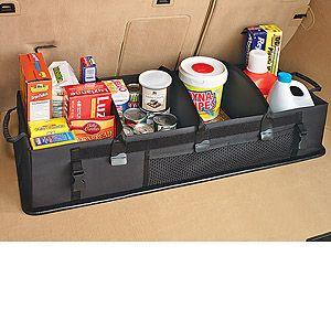 collapsible organizing storage  suvs cargo trunk storage organizer net  car suv