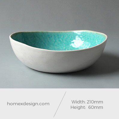 Ceramic L sized bowl (set of 5)