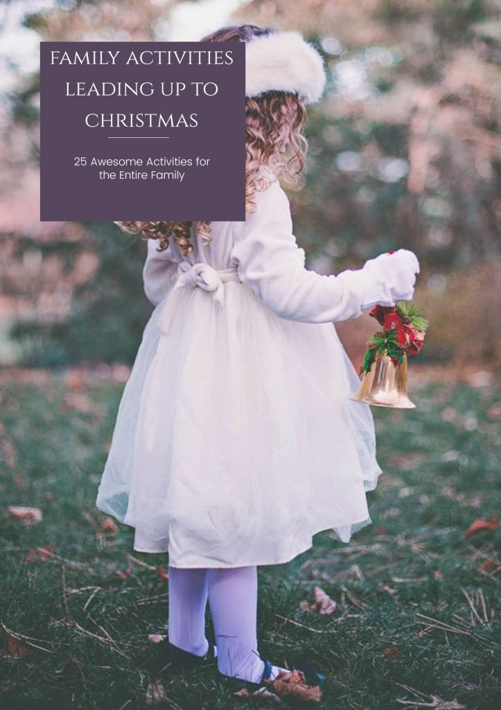 The countdown to Christmas is one of my favorite things to do each December! I like to spend a lot of time with my family during the Holiday season.