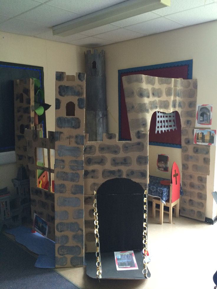 Castle role-play area
