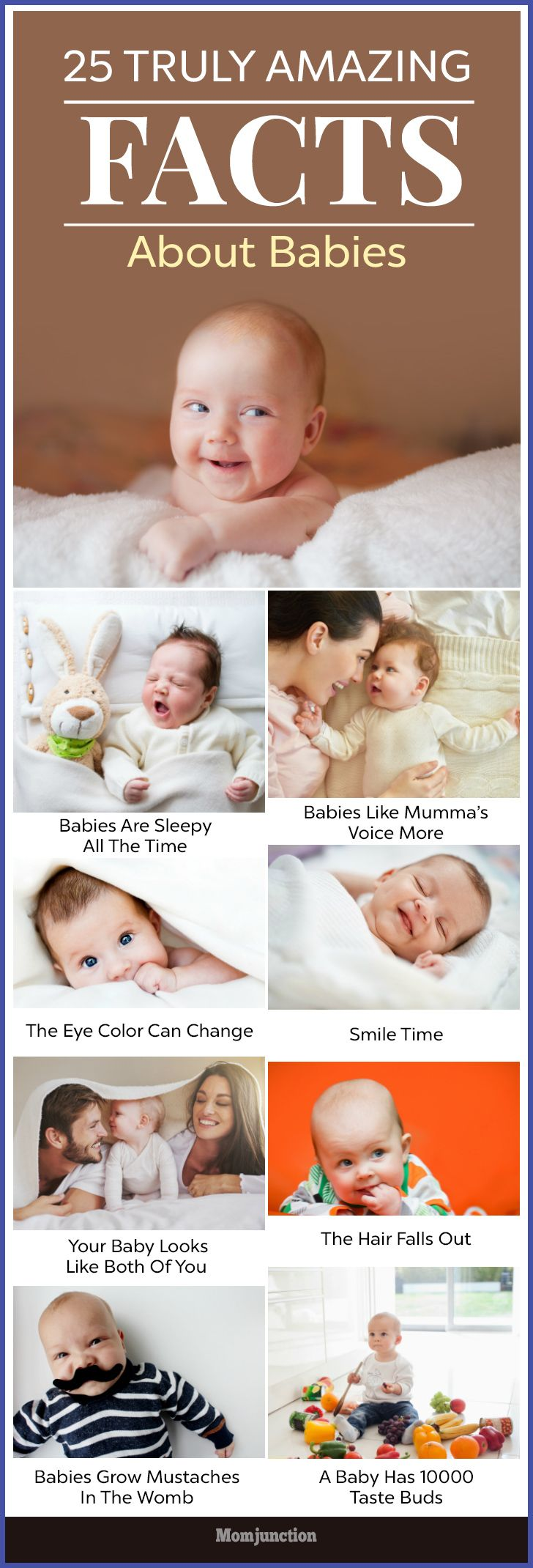 25 truly amazing baby facts