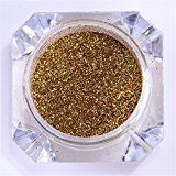 CoulorButtons 1 Box Colorful Mirror Nail Powder Manicure Nail Art Chrome Pigment Glitter Dust