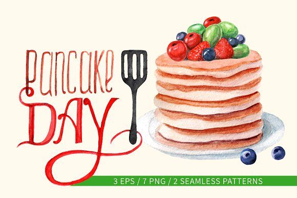 Pancake. Best food illustrations for businesses like food menu, blogging, graphic design, poster. More #food #illustrations for your #brand you can download here ➝ https://creativemarket.com/graphics/illustrations?u=BarcelonaDesignShop #food #creative #download #menu #restaurant #design #graphic #drawing #cafe #vintage #print #illustration #logo #cute #vector #art #funny #poster #doodle #drawing #label #icon #watercolor #dessert #pancake