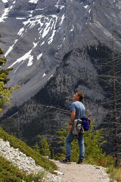 Hiking the Lake Minnewanka Trail in Banff National Park