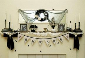 Throw a Haute Halloween Wedding with Vintage Details