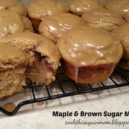 Maple & Brown Sugar Muffins