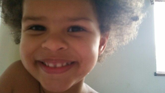 My cute 2year old love her hair like this