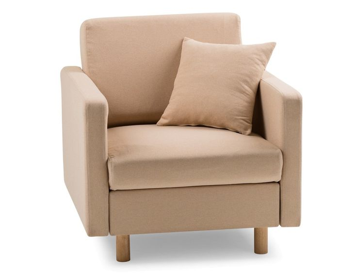 WALKER - Armchair - Taupe