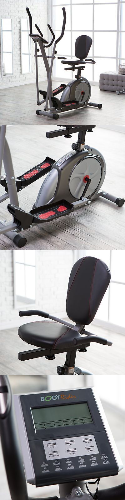 Abdominal Exercisers 15274: Body Rider 3-In-1 Trio Trainer - Elliptical Recumbent Bike Upright Bike, Silver -> BUY IT NOW ONLY: $299.98 on eBay!