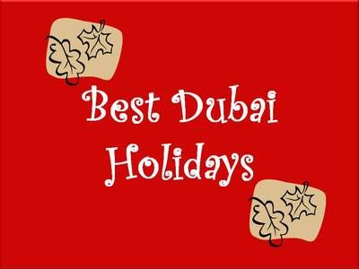 Dubai procuring competition @ bestdubaiholidays… will not be just for buyers, its for…