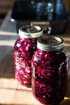 Spiced Pickled Red Cabbage | infinebalance.com #recipe #vegetables