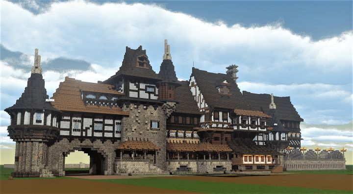 A Medieval Estate Minecraft Project