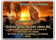 Oración de la mañana, ¡Gracias Señor por éste nuevo día!