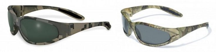 Lot of 2 Digital Camo Camouflage Safety Sunglasses Smoke Green Lens Shooting New