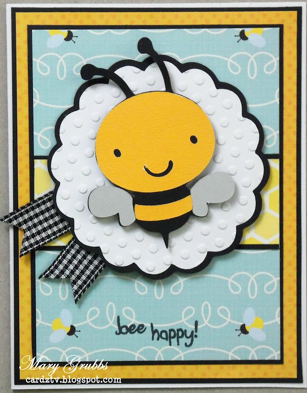 Adorable card! Made several!! EASY to duplicate with basic papercrafting stash.BLB