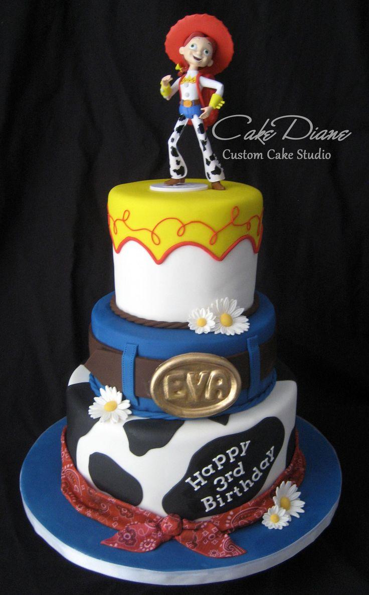 Disney Jessie Birthday Cake