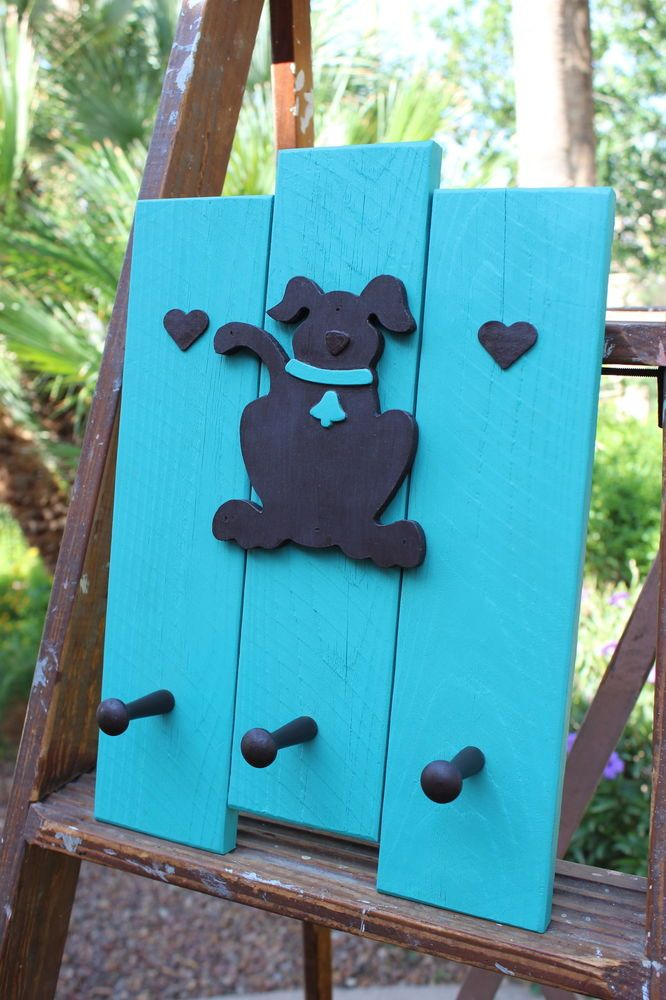 Handcrafted Dog Leash Holder Wall Mounting Dog Accessory Dog Lover Pet Accessories, Dog Toys, Cat Toys, Pet Tricks