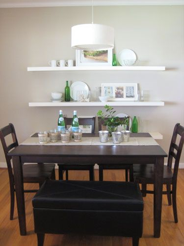 Switch Up Your Dining Room Seating By Adding A Padded Leather Bench To Your Dining Room Table