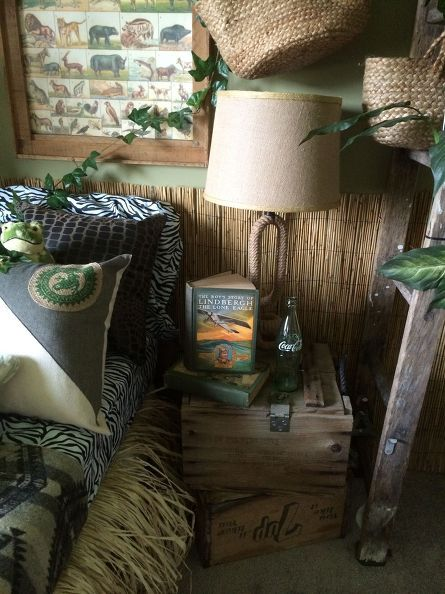 over Jungle Thema Slaapkamers op Pinterest - Decoraties met als thema ...