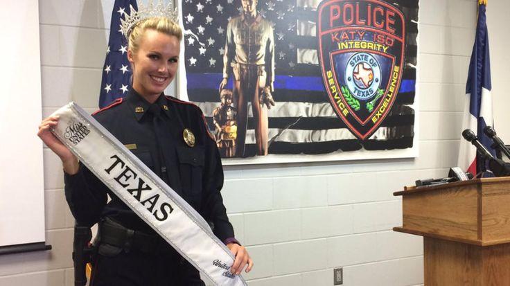 """] HOUSTON * 16 de mayo de 2017. Shannon Dresser tiene la tarea de vigilar, como oficial de policía, la seguridad de los estudiantes de un distrito escolar al oeste de Houston. Pero su belleza la llevó a ser elegida, el pasado domingo, como la nueva """"Miss Texas"""". Ahora participará en..."""