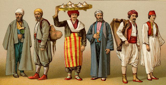 Armenian Men in Turkey - Also works for Rataani or Dharak men of the Dragonspines