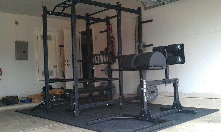 Best home gyms images on pinterest garage gym