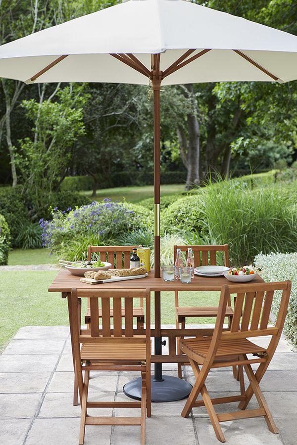 3125c6ff34 Florenville 4 Seater Garden Furniture Set in 2019   Garden Furniture Ranges  2019   Garden furniture sets, Wooden garden furniture, Garden furniture