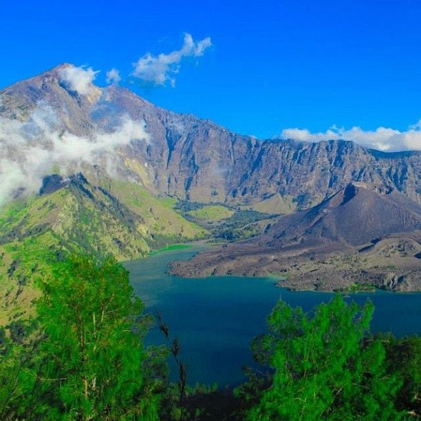Taman Nasional Gunung Rinjani (Mt. Rinjani National Park) in Lombok Island, Nusa Tenggara Barat