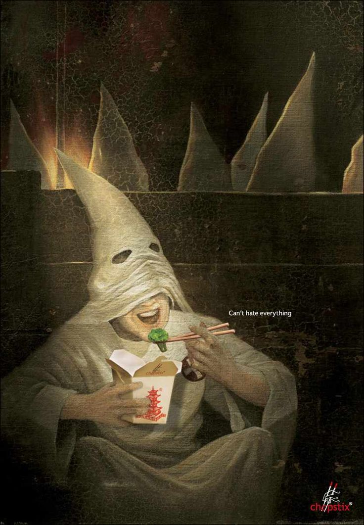 KKK  Can't hate everything. Advertising Agency: Dentsu, Indonesia
