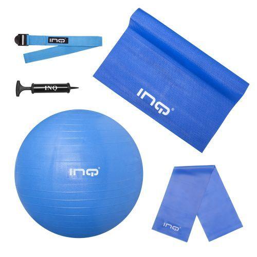 #Pilatesset van #INQ Deze pilates set van INQ is ideaal voor diverse grondoefeningen. Naast pilates ook goed te gebruiken bij yoga of fitness.