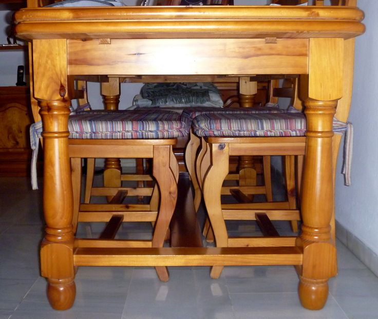La letra Pi (Π)mayúscula tiene la misma forma que una mesa.