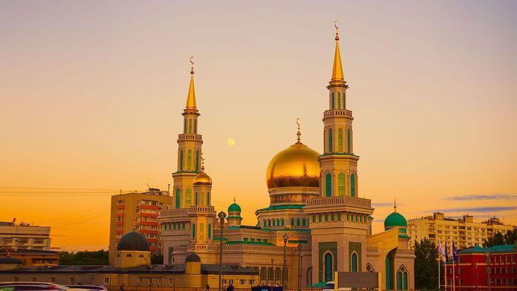 Московская соборная мечеть - Russia - Wikipedia