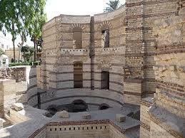 La fortaleza de Babilonia ruinas de la epoca romana en Egipto