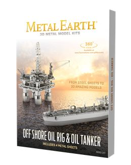 Show details for Offshore Oil Rig & Oil Tanker Gift Set  MMG105