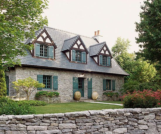 17 best images about tudor style homes paint combos on for Tudor colonial style home