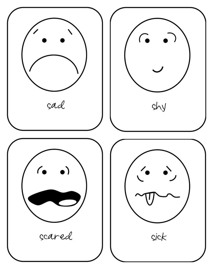 Busy Bubbers: emotion flash cards   Hopes and Dreams