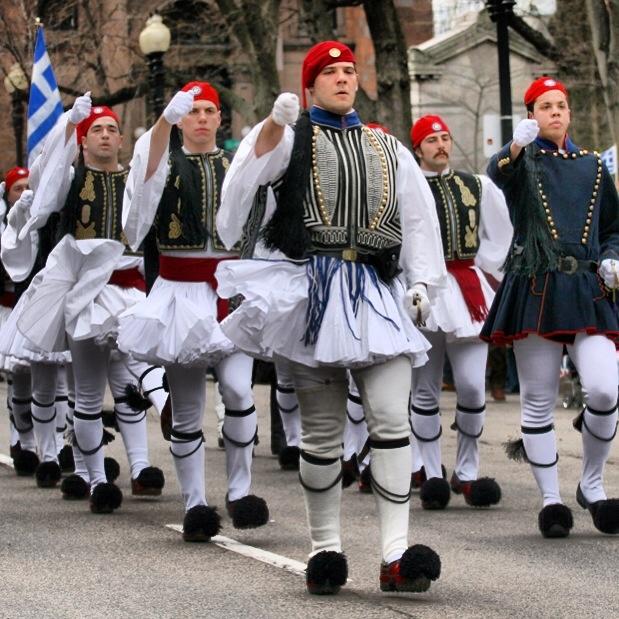 Greek Independence Day parade, Boston.