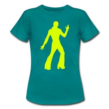 Ein Disco Tänzer der 70er Jahre.