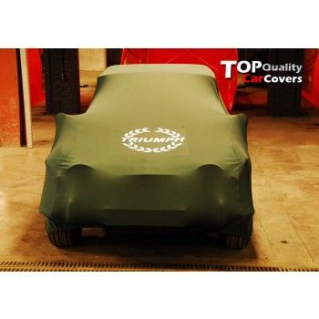 Triumph tailored car cover
