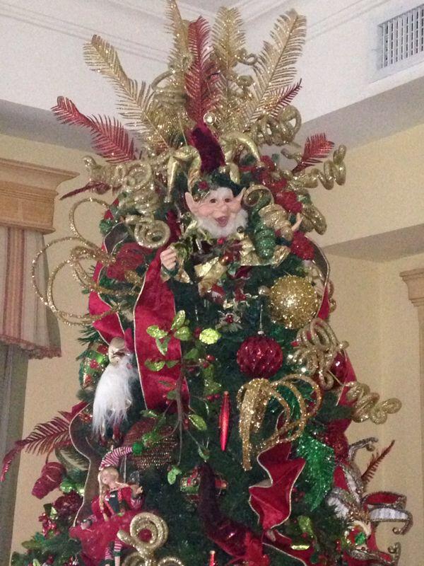 Tope arbolito de navidad arlequines navidad pinterest - Arbolito de navidad ...