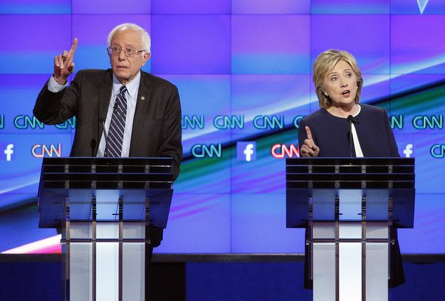 9 Immigration Questions That Sanders And Clinton Haven't Been Asked In The Democratic Debate. While Republicans debate immigration at length in their debates, moderators for the Democratic debates have mostly left immigration — one of the most controversial and central issues of this cycle — aside.