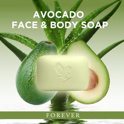 Forever Avocado Face and Body Soap. http://www.myaloevera.dk/foreverlivinggjessø Read more http://460000689679.fbo.foreverliving.com/