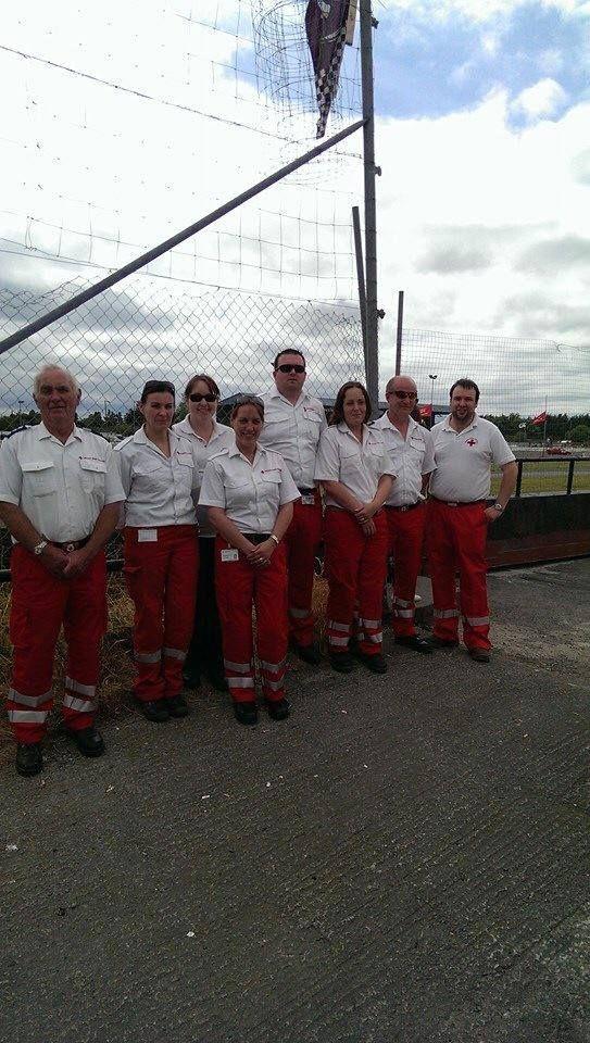 Volunteer first aid cover in Roscrea 2014 www.redcross.ie
